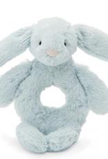 Jellycat Bashful Beau Bunny Ring Rattle