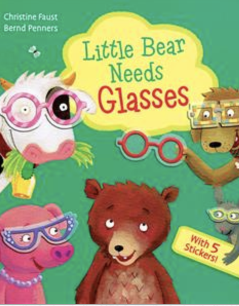 Usborne Little Bear Needs Glasses book