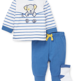 Little Me Puppy Jogger 3 pc Set 3M