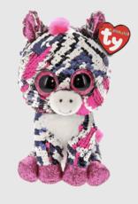 Ty Zoey Sequin Pk Zebra Tiny