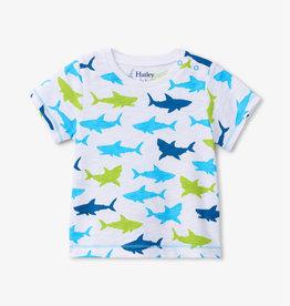 Hatley Great White Shark Tee 6/9, 9/12M