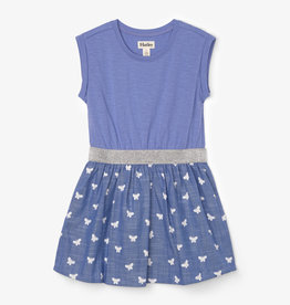 Hatley Butterfly Elastic Waist Dress 2-4