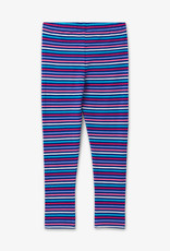 Hatley Blue Rainbow Stripe Leggings 8