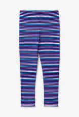 Hatley Blue Rainbow Stripe Leggings