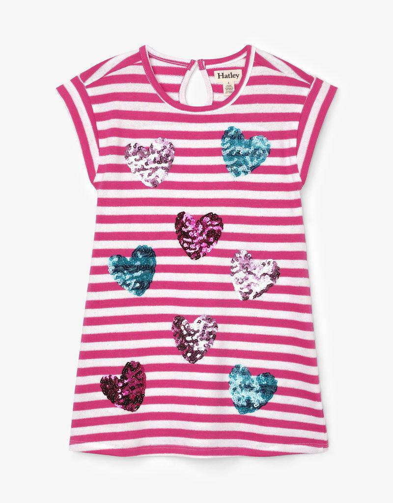 Hatley Sweet Hearts Shift Dress