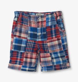 Hatley Madras Plaid Shorts 5-7