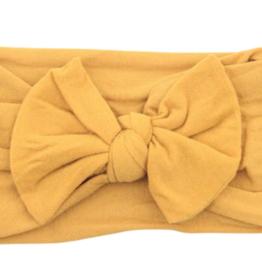 Mila & Rose Nylon Bow Headwrap Dandelion
