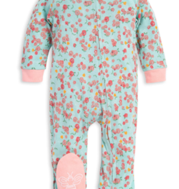 Burt's Bees Ditsy Floral Sleep & Play 0/3-6/9M