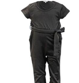 Cassidy V-Neck Jumpsuit Black 3T