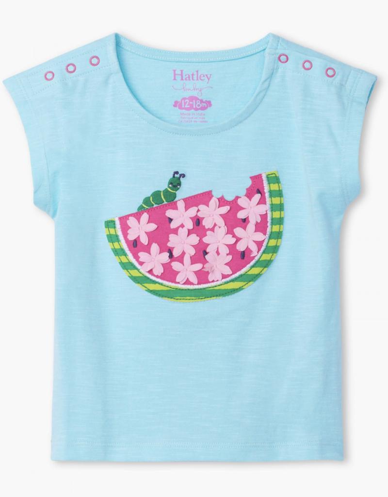 Hatley Watermelon Slice Baby Tee