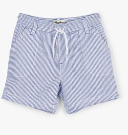 Hatley Blue Stripe Woven Shorts  4T