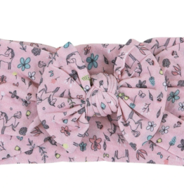 Mila & Rose Nylon Bow Headwrap Fairytale