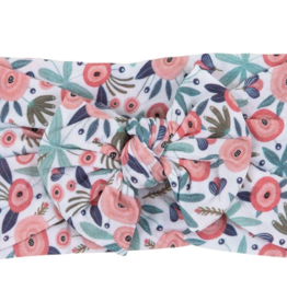 Mila & Rose Nylon Bow Headwrap Blossom
