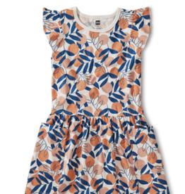Tea Collection Pocket Dress Spring Citrus 8, 10