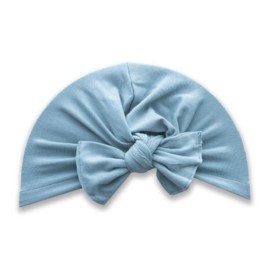 Baby Bling Bow Knot Turban Teal