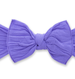 Baby Bling Bow Knot Bow Amethyst