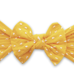 Baby Bling Bow Patterned Shabby Knot Sunshine Dot