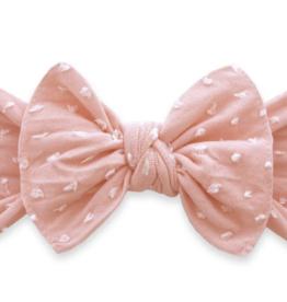 Baby Bling Bow Patterned Shabby Knot Seashell Dot