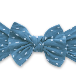 Baby Bling Bow Patterned Shabby Knot Laguna Dot
