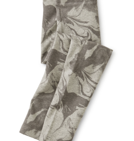 Tea Collection Marble Print Leggings Grecian Grey 10