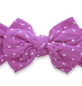 Baby Bling Bow Patterned Shabby Knot Barbie Dot