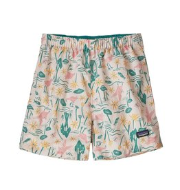Patagonia Baggies Shorts Birds in Lotus  4T, 5T