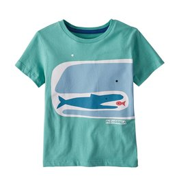 Patagonia Organic Tee Fishy Food Chain 3/6M