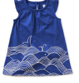 Tea Collection In the Wind Ruffle Dress 12/18-18/24M