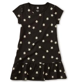 Tea Collection Ruffle Hem Dress Stars 6