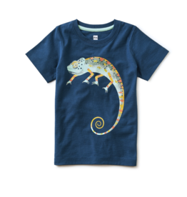 Tea Collection Cool as a Chameleon Graphic Tee 2T, 3T