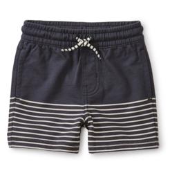 Tea Collection Knit Beach Shorts Indigo 12/18-18/24M