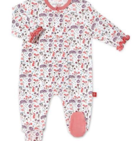 Magnetic Me Beatrix Floral Modal Footie 6/9M
