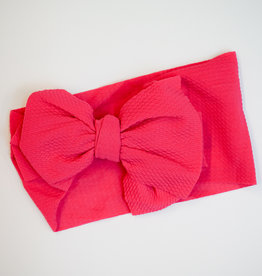 Bailey's Blossoms Messy Bow Headwrap Fuchsia