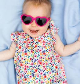 Babiators Pink Heart Navigators 0-2yrs, 3-5yrs