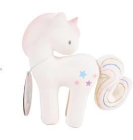 Tikiri Toys Rubber Rattle Unicorn w/Crinkle Tail