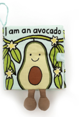 Jellycat Avocado Fabric Book