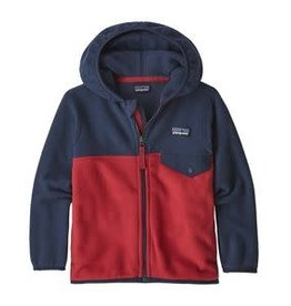 Patagonia Baby Micro D Snap-T Jacket Fire 3/6M