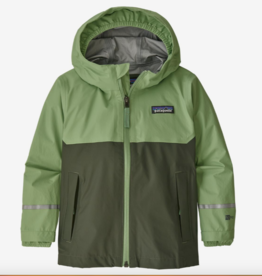 Patagonia Torrentshell 3L Jacket Thistle Green 2-5T