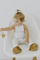 Chewable Charms Hayes Silicone Wood Teether Toy Moonstone