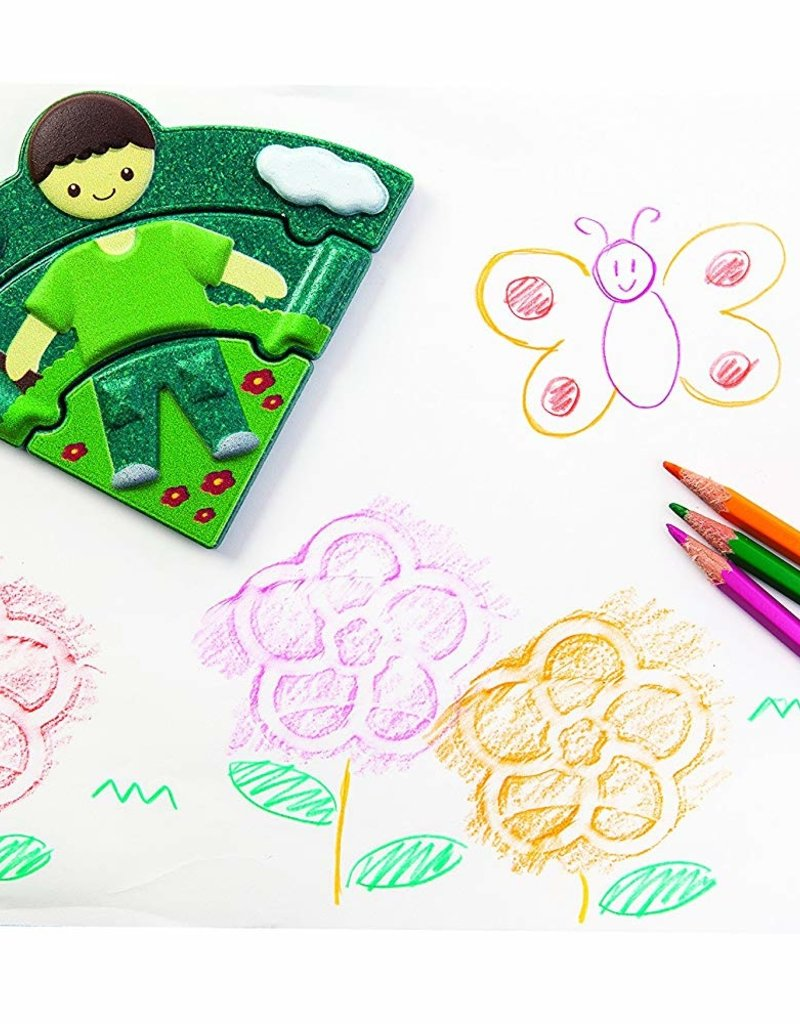 Plan Toys Weather Dress up Puzzle