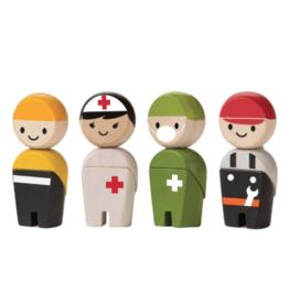 Plan Toys Rescue Crew