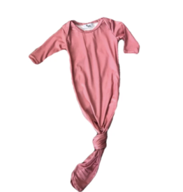 Queen Maddyn Knotted Gown Dusty Rose 0/6M