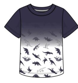 Globaltex Kids Dip Dye Tee Dino Print 4T