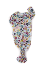 Gigi and Max Annie Floral Knotted Ruffle Gown