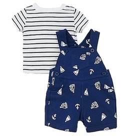 Little Me Nautical Shortall 12M
