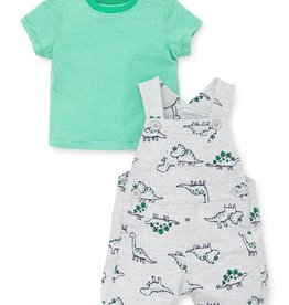 Little Me Dinosaur Shortall 6M