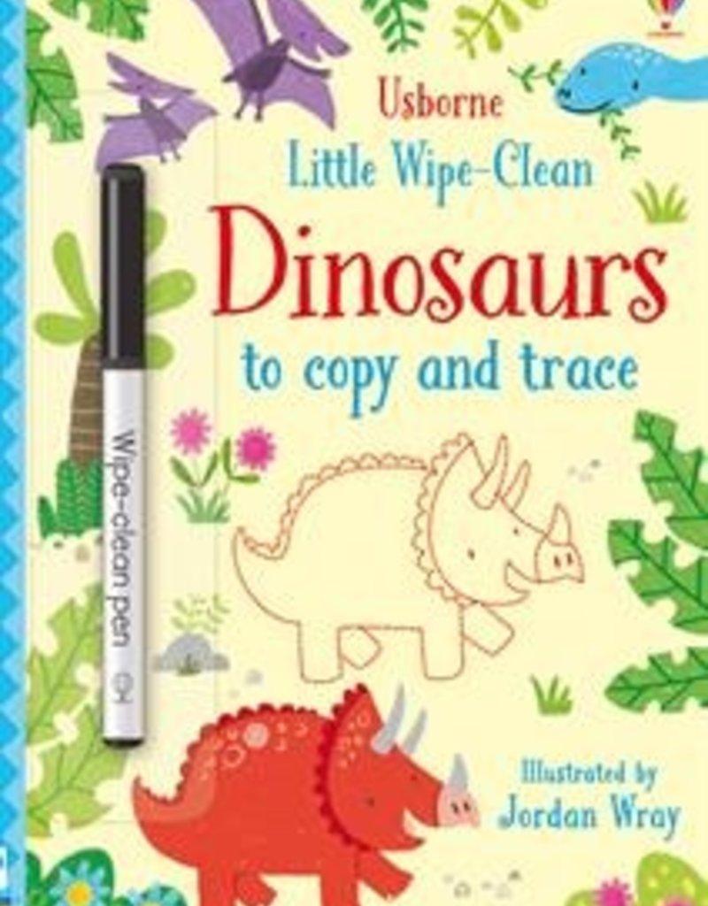 Usborne Little Wipe-Clean Dinosaurs Copy Trace