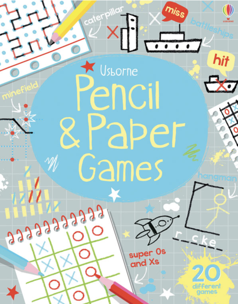 Usborne Pencil & Paper Games