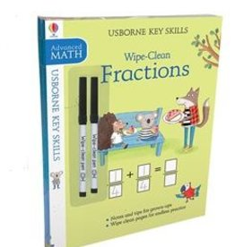 Usborne Wipe-Clean Skills Pack: Fractions