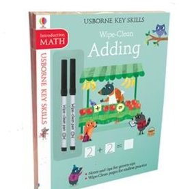 Usborne Wipe-Clean Skills Pack: Addition